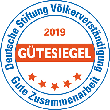Stiftung Völkerverständigung Gütesiegel 2019